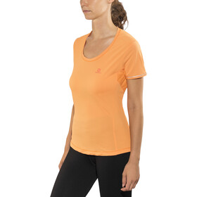 Salomon Agile Løbe T-shirt Damer, bird of paradise